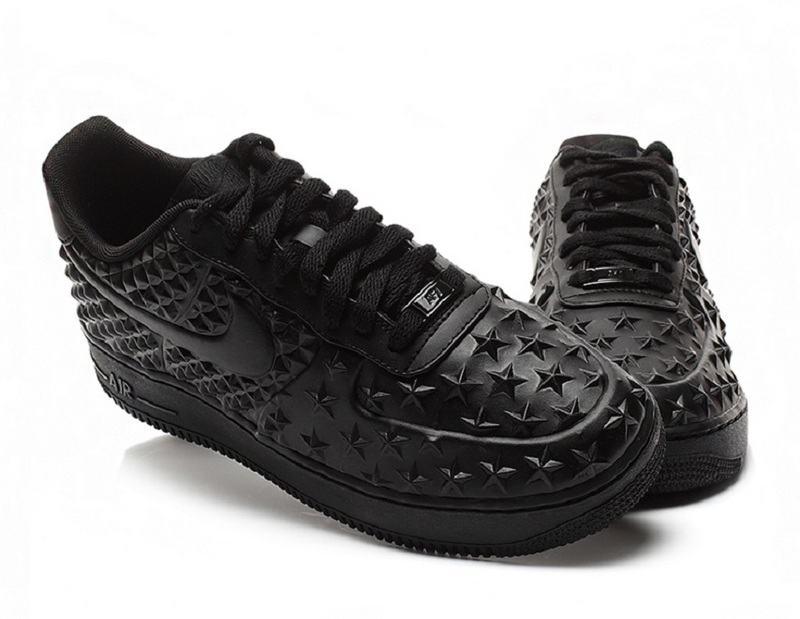 Nike Air Force 1 LV8 VT All Black Shoes