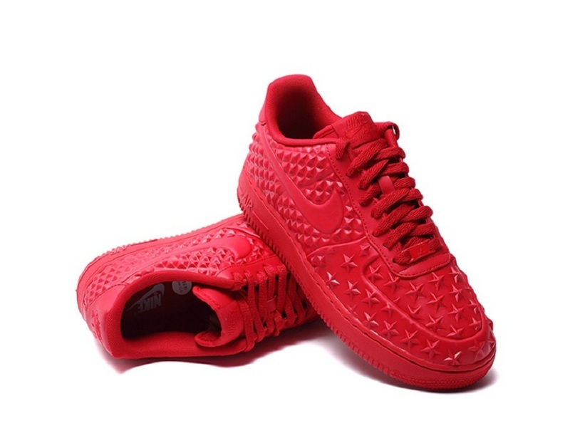 Nike Air Force 1 LV8 VT All Red Shoes