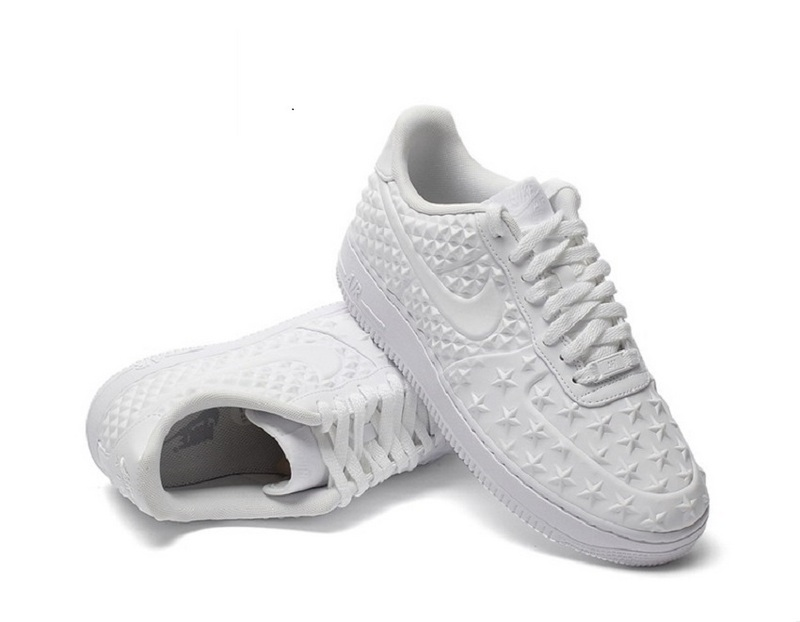 Nike Air Force 1 LV8 VT All White Shoes