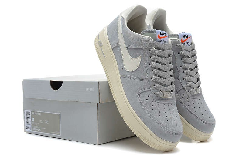 Nike Air Force All Grey Shoes