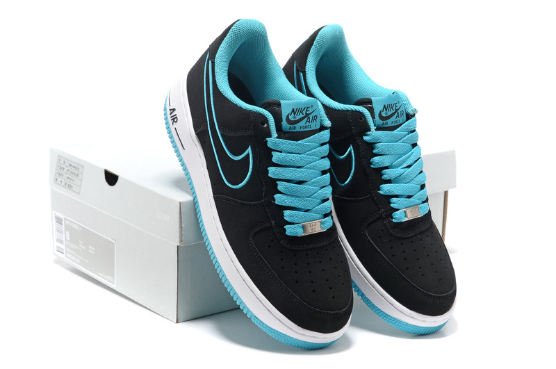 Nike Air Force Black Jade Shoes