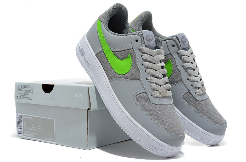 Nike Air Force Gradual Grey White Shoes