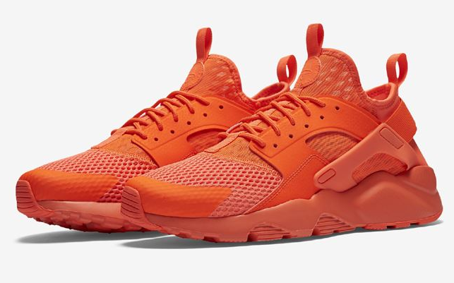 Women Nike Air Huarache Run Ultra All Orange Shoes