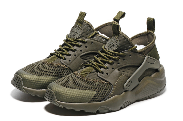 a5d264c48c1da Women Nike Air Huarache Run Ultra PK Army Green Shoes  NKOBE1182 ...