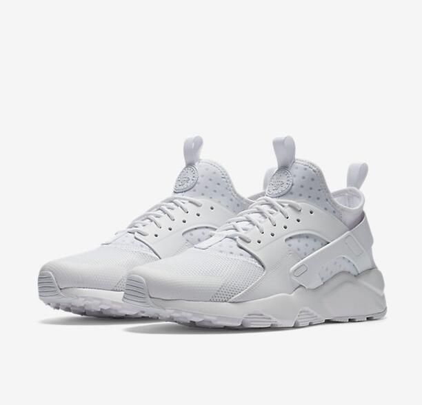 Women Nike Air Huarache Run Ultra Triple White Shoes