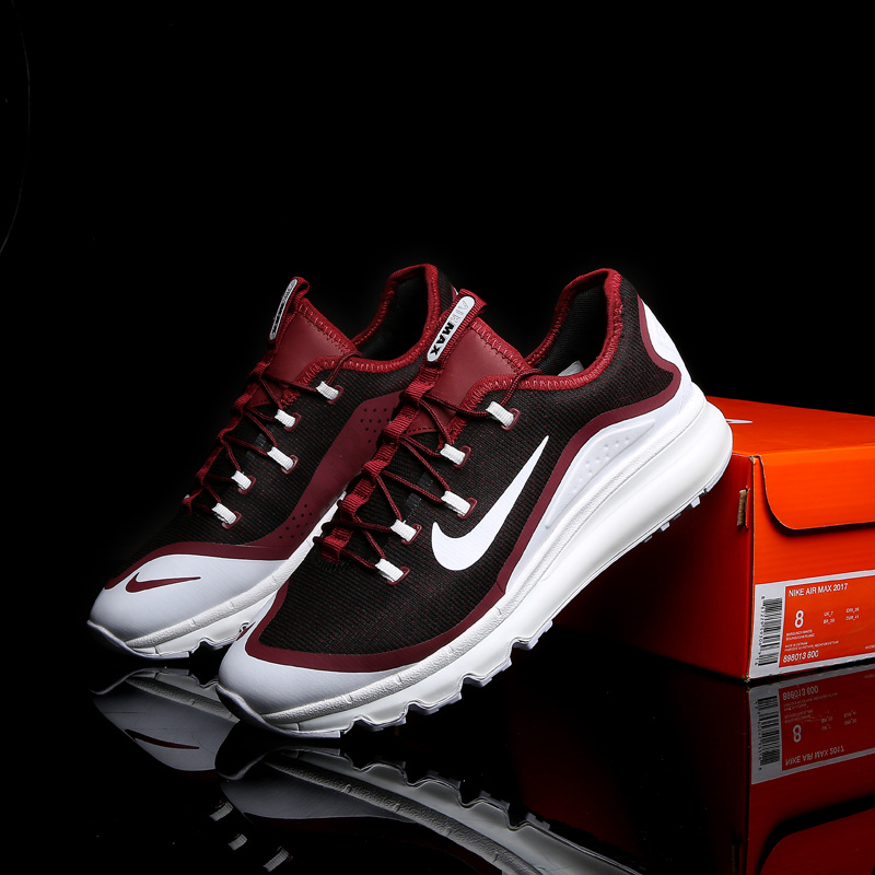 Nike Air Max 2017 II Wine Red White Shoes