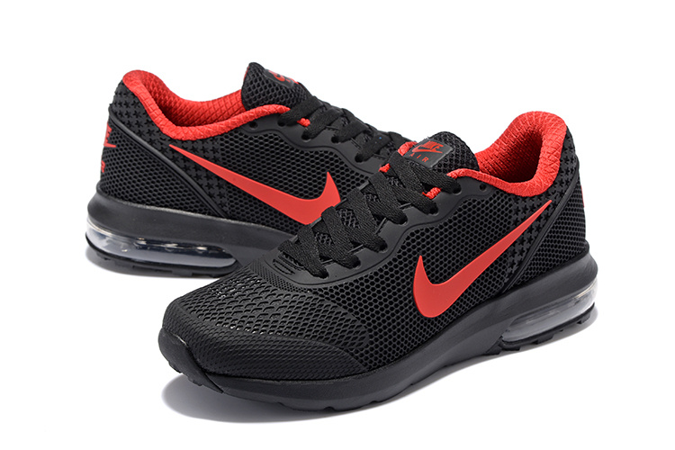 Nike Air Max 2018 Mesh Black Red Shoes