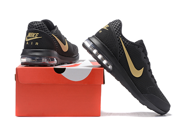 new product 6ee29 f4df7 Nike Air Max 2018 Mesh Black Red Shoes