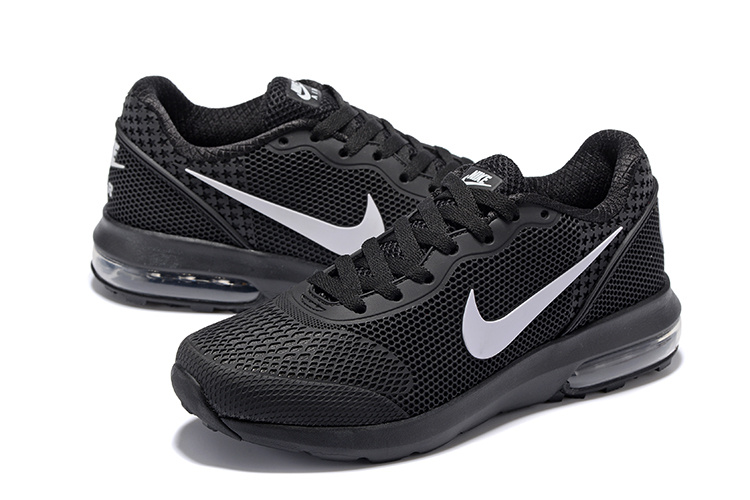 Nike Air Max 2018 Mesh Black White Shoes