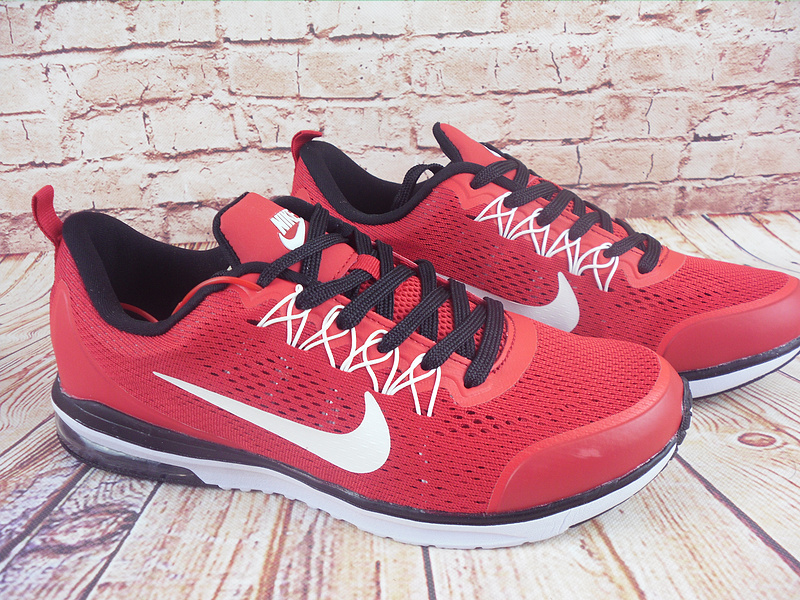 Nike Air Max 2019 Red Black White Shoes