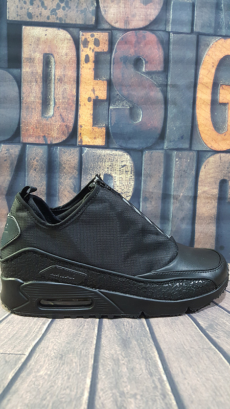 Nike Air Max 90 Ultra Superfly HTM All Black Shoes