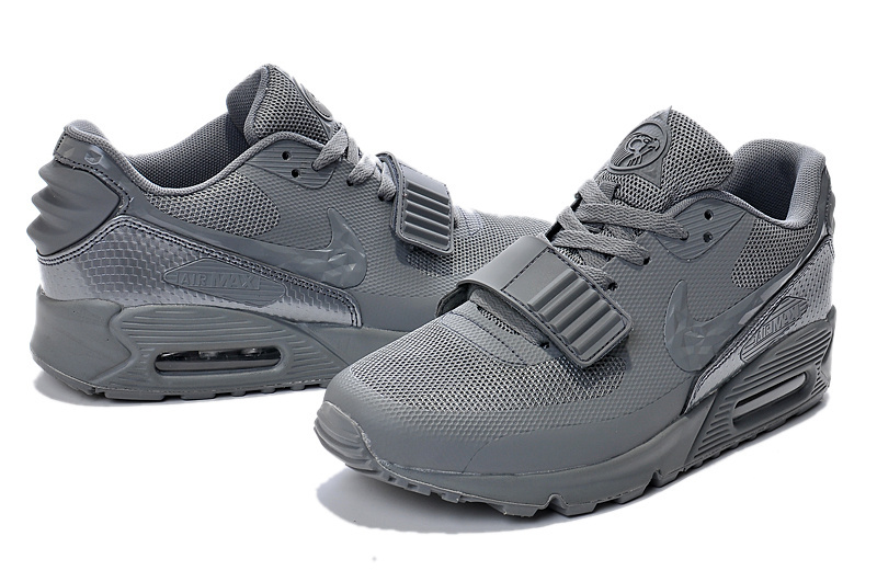 New Nike Air Max 90 Yeezy All Grey