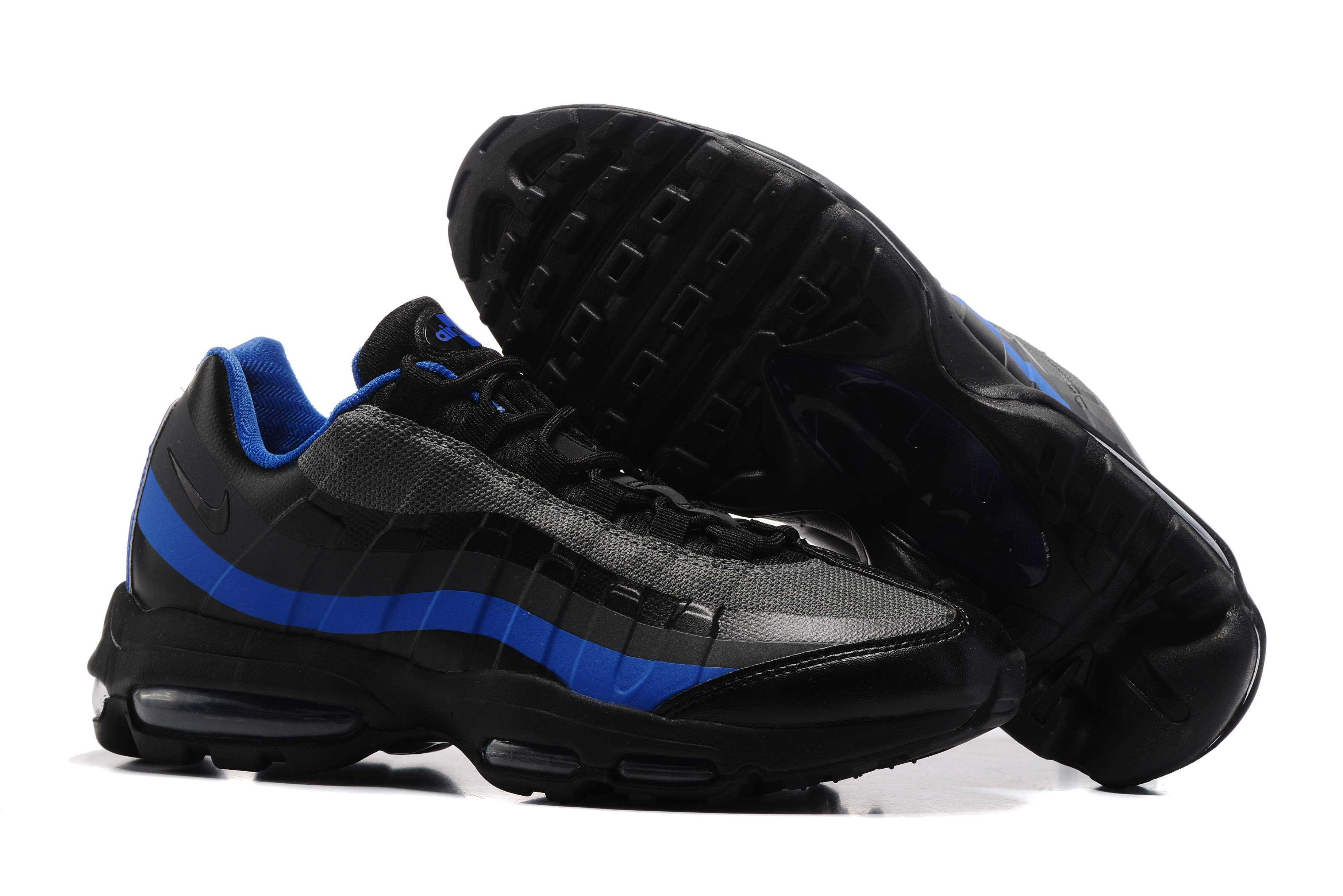 Nike Air Max 95 Black Blue Shoes