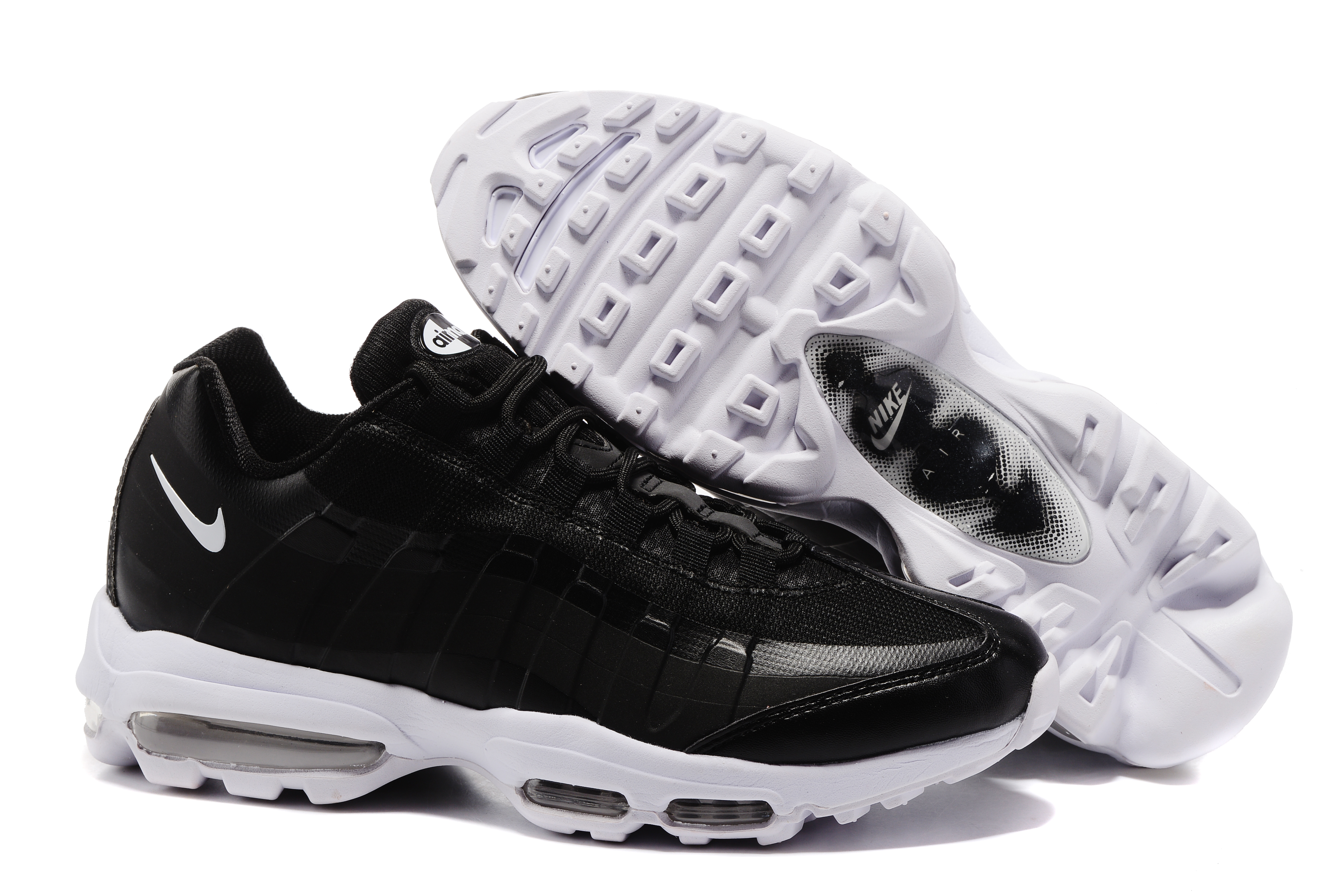 Nike Air Max 95 Black White Shoes