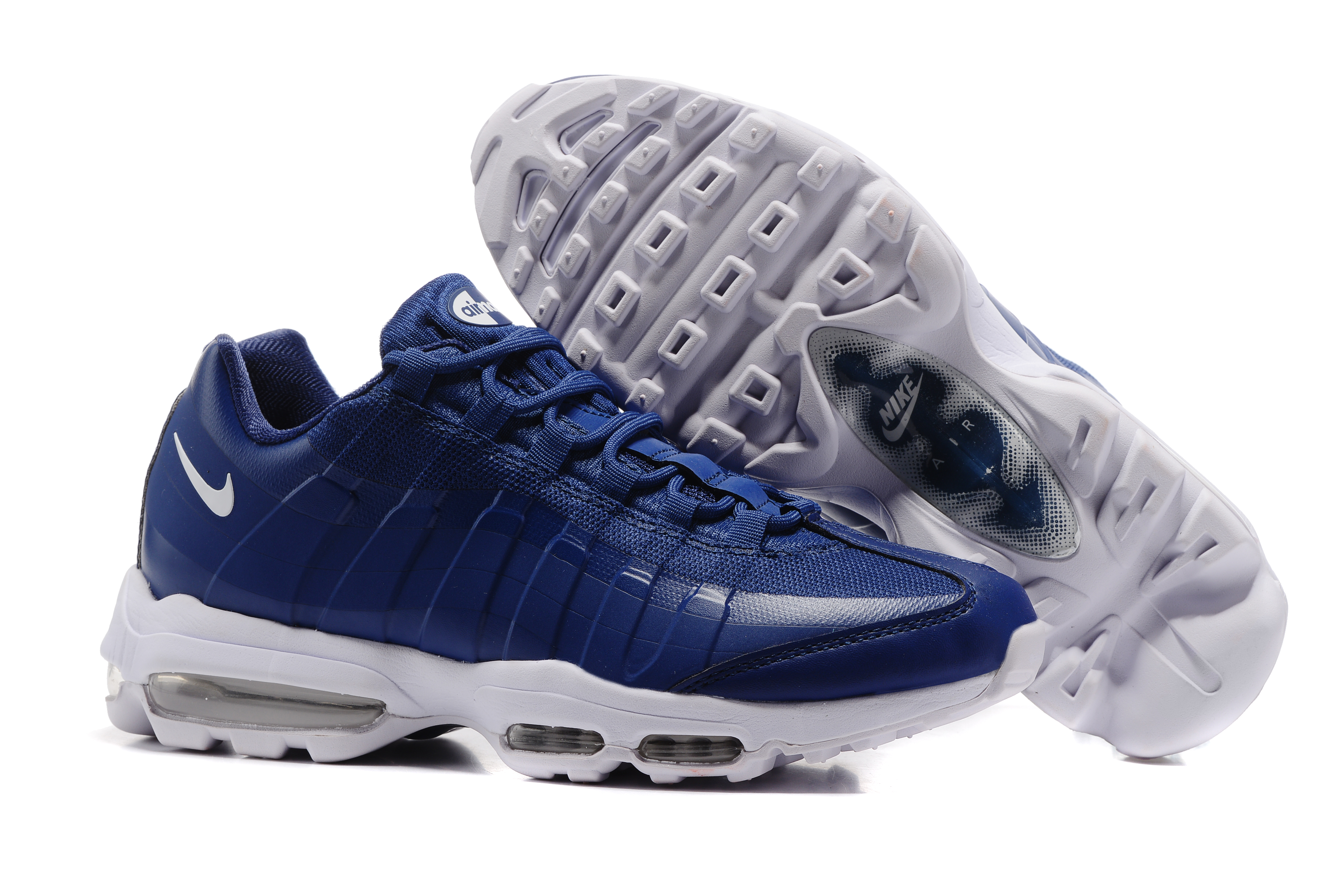 Nike Air Max 95 Blue White Shoes