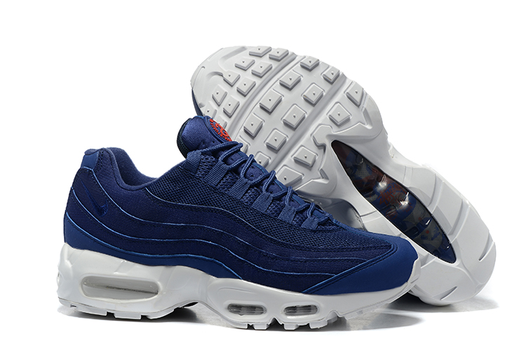 Nike Air Max 95 Deep Blue White Shoes
