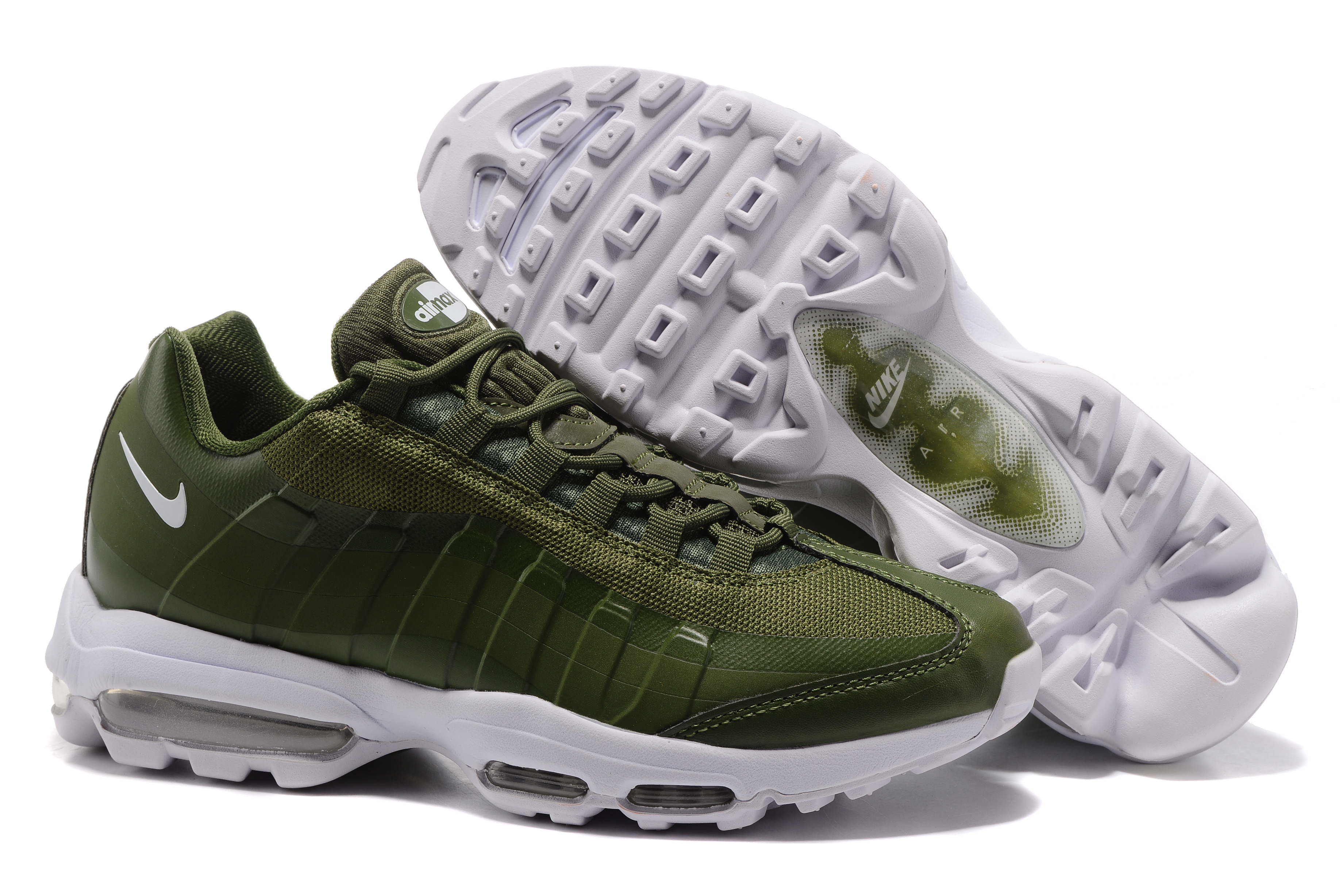 Nike Air Max 95 Green White Shoes