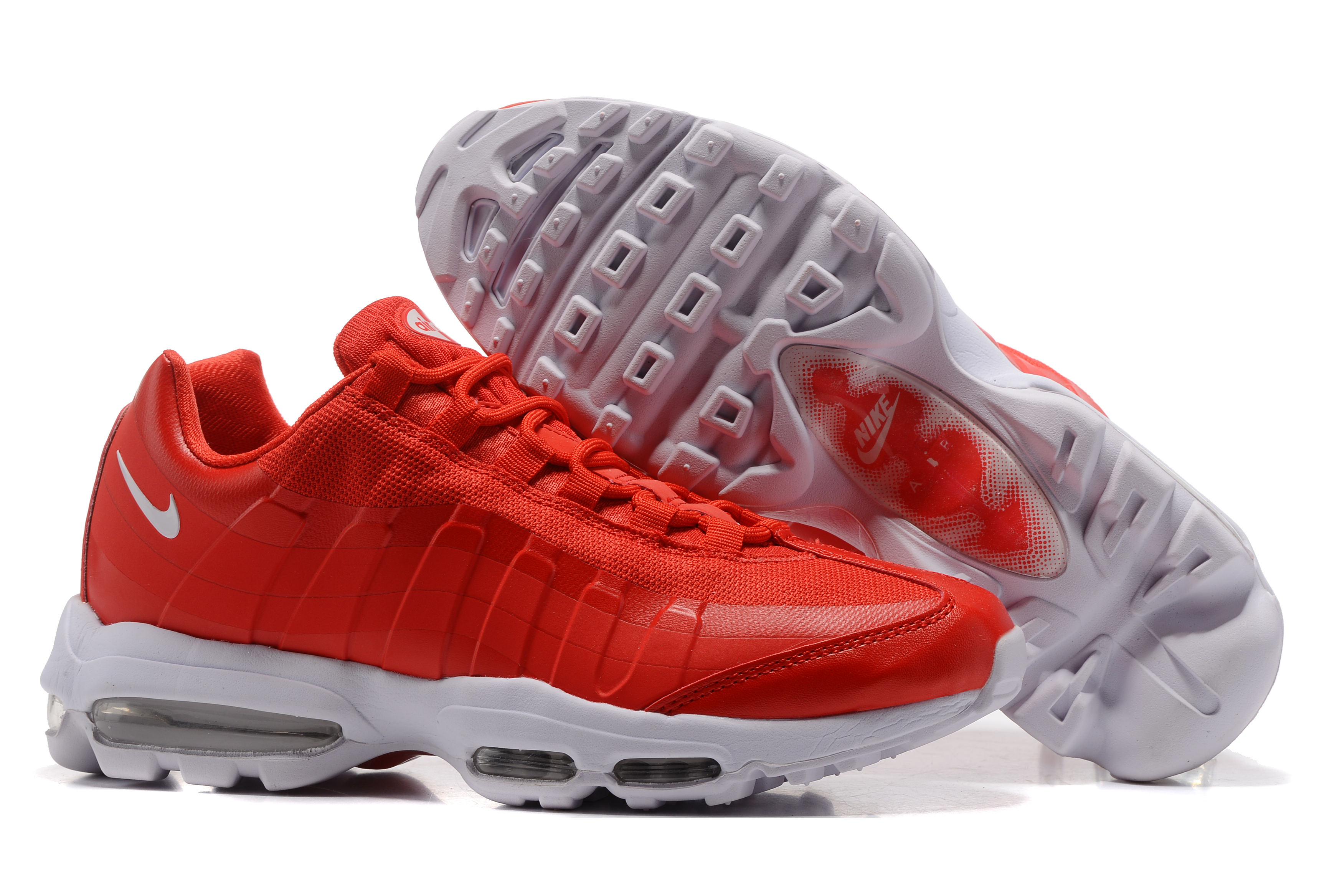 Nike Air Max 95 Red White Shoes