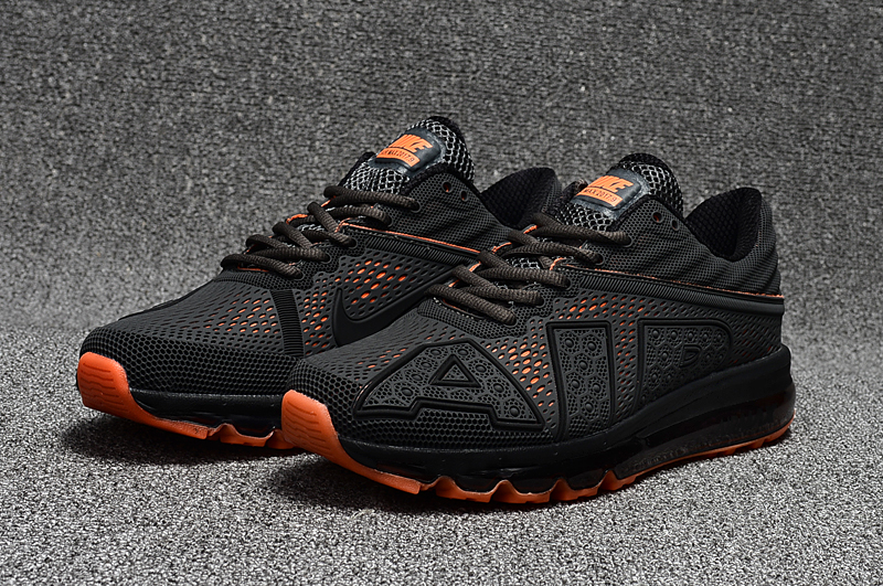 2017 Nike Air Max Flair Black Orange