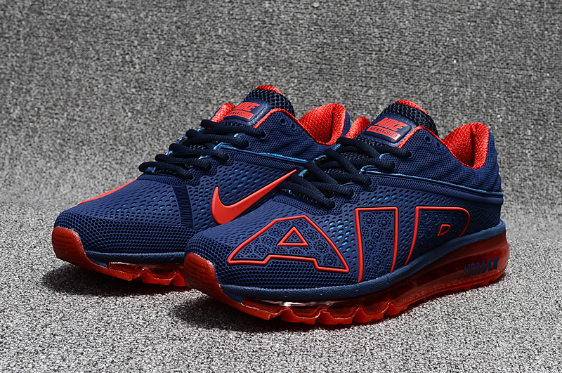 2017 Nike Air Max Flair Blue Red