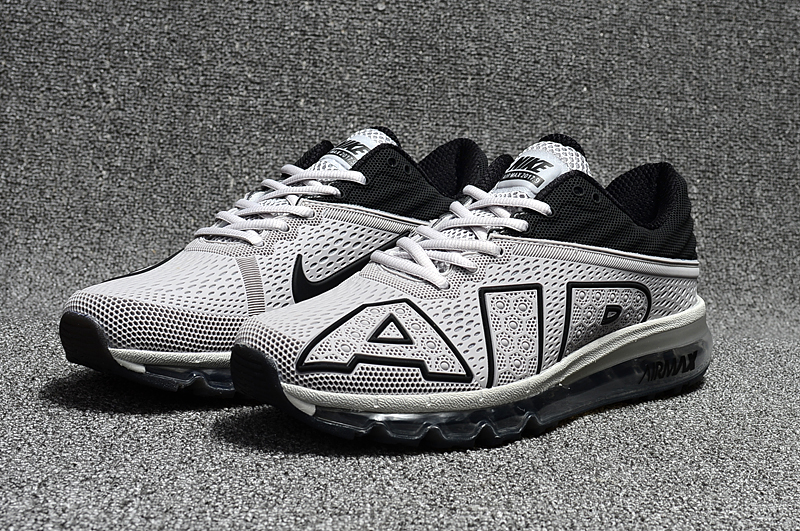 2017 Nike Air Max Flair Grey Black