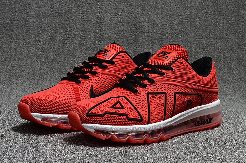 2017 Nike Air Max Flair Red Black