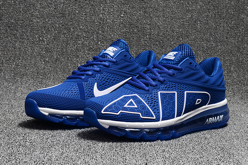 2017 Nike Air Max Flair Royal Blue White