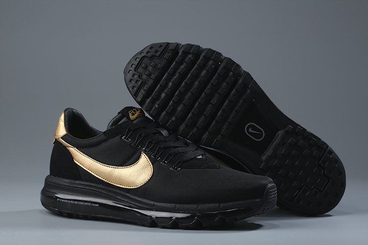 Nike Air Max LD Zero Black Gold Lover Shoes