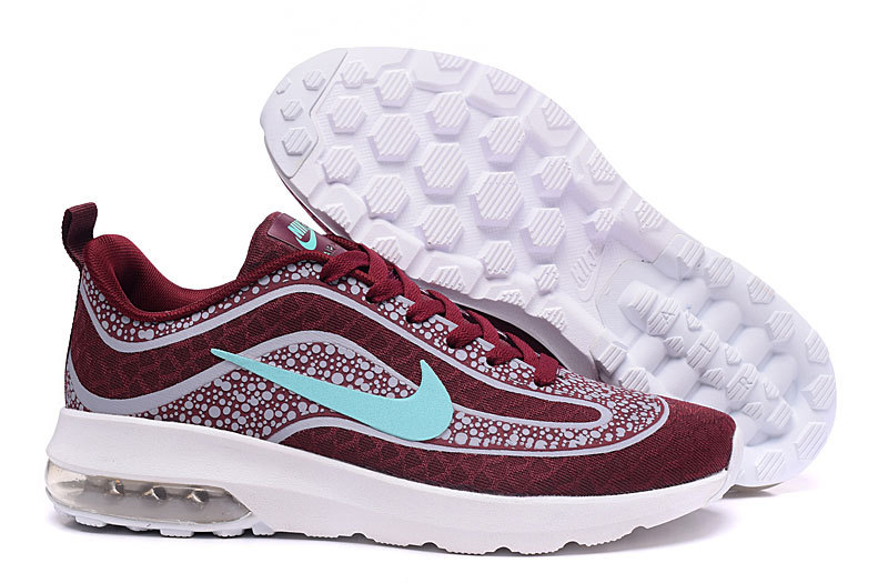 Nike Air Max Mercurial R9 Wine Red White Baby Blue Shoes