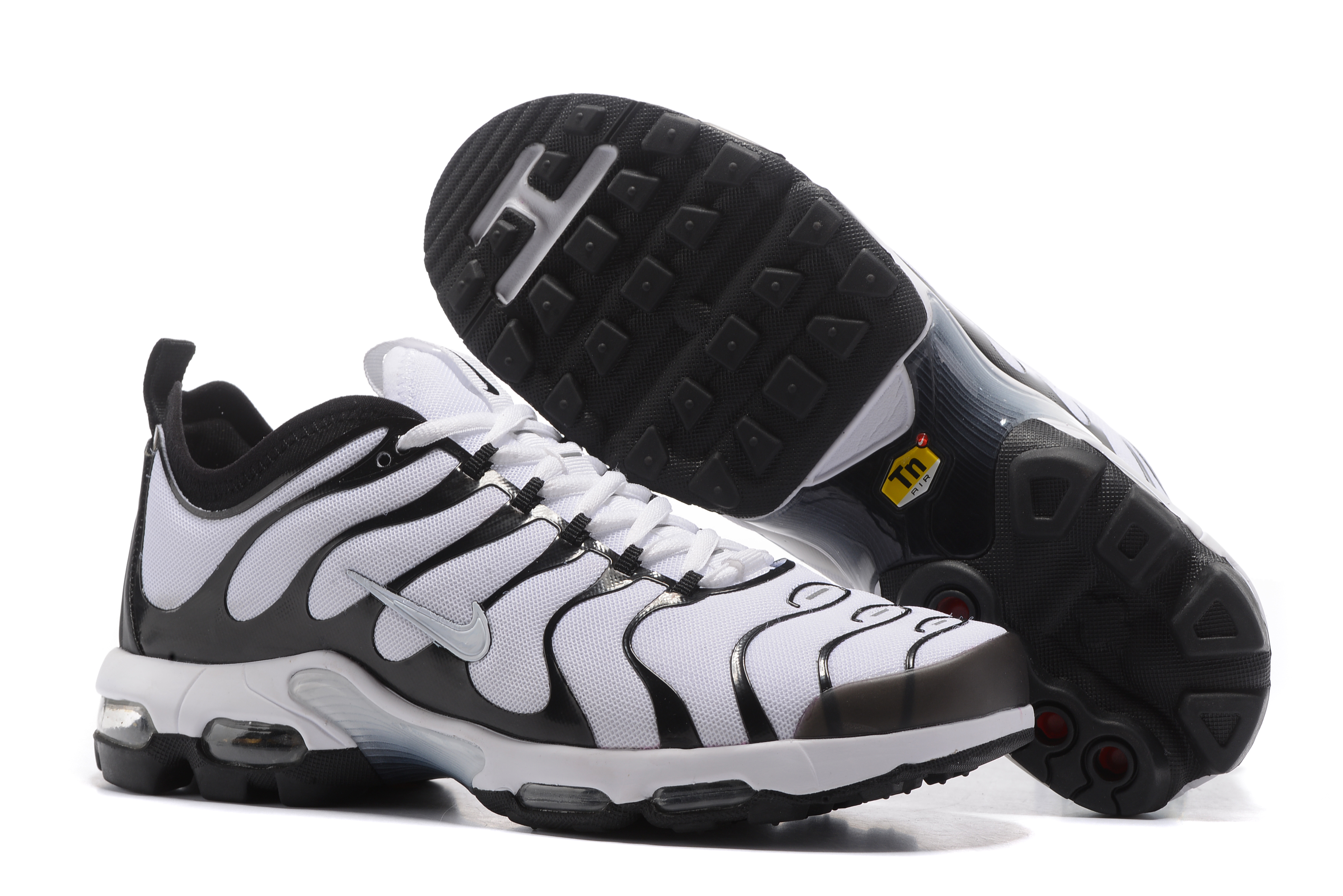 Nike Air Max Plus TN White Black Shoes