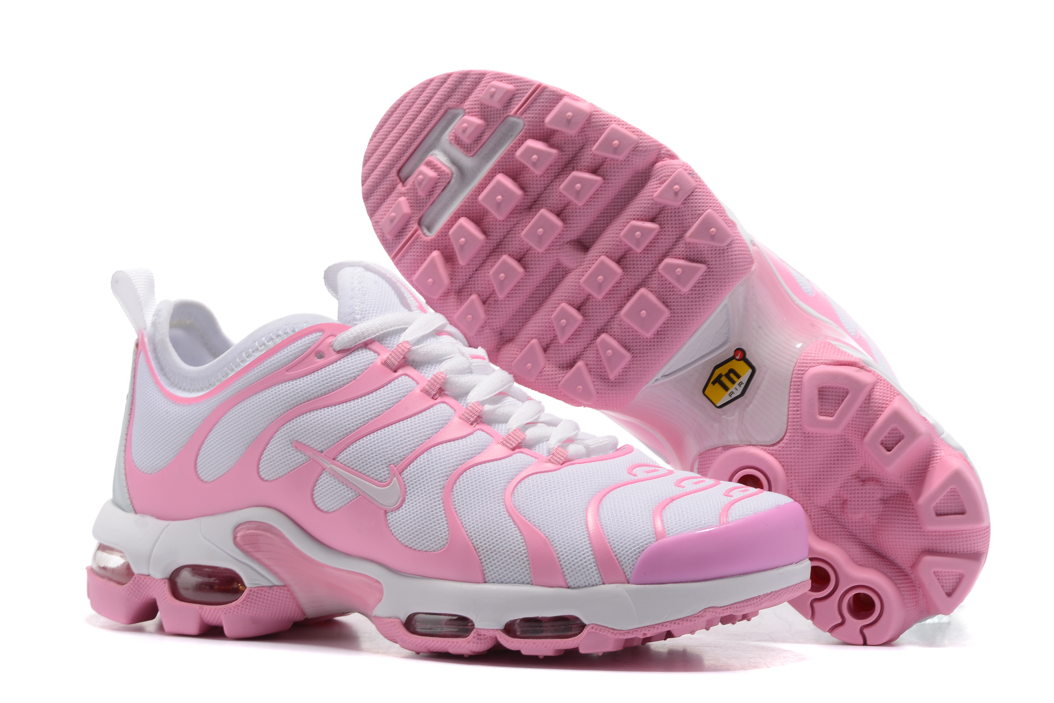 Nike Air Max Plus TN White Pink Shoes