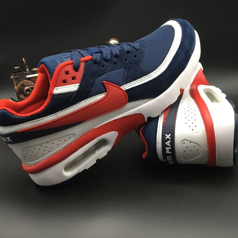 Nike Air Max Premium BW 25TH Deep Blue Red White Shoes  NKOBE759 ... 44288299bd17