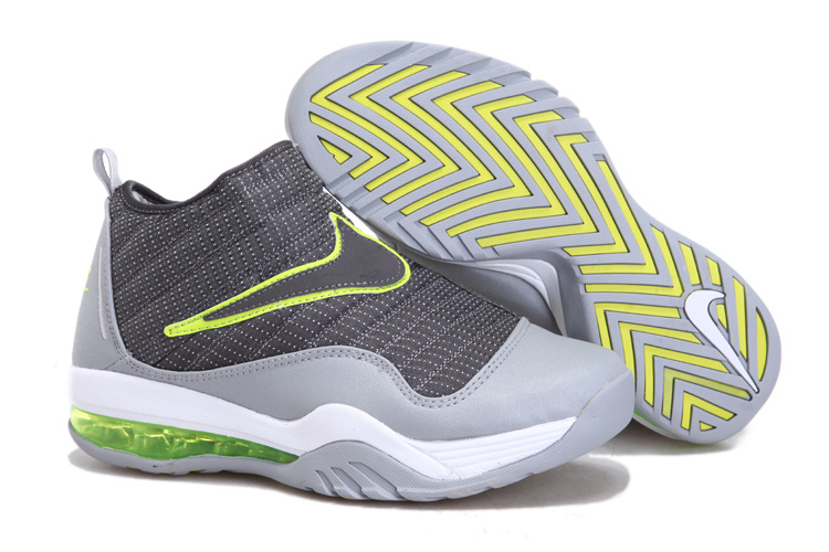 Nike Air Max Shake Evolve Grey Fluorscent Green Shoes
