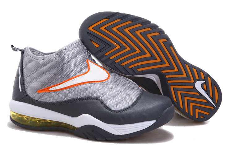 Nike Air Max Shake Evolve Grey Silver Orange Shoes