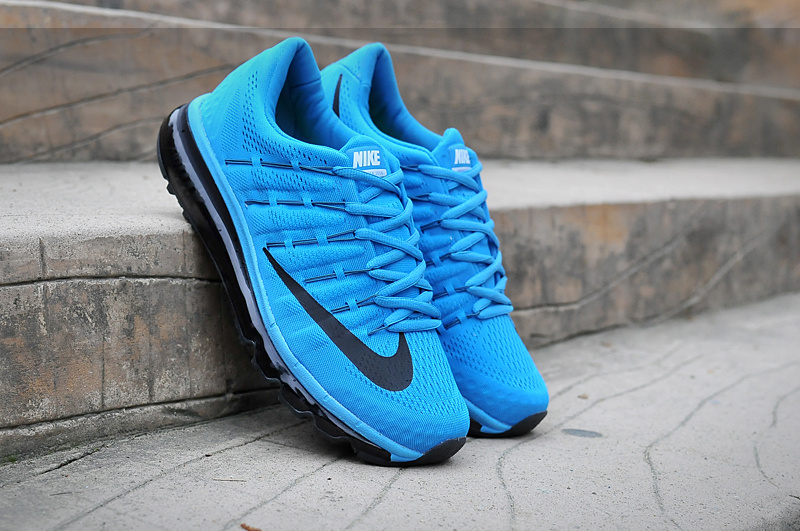 Nike Air Mx 2016 Blue Black Shoes