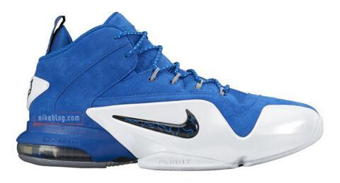 Nike Air Penny VI Blue White Shoes