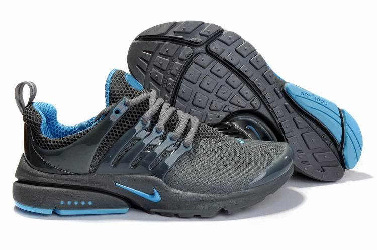 Nike Air Presto 2 Carve All Grey Blue Shoes With Big Holes