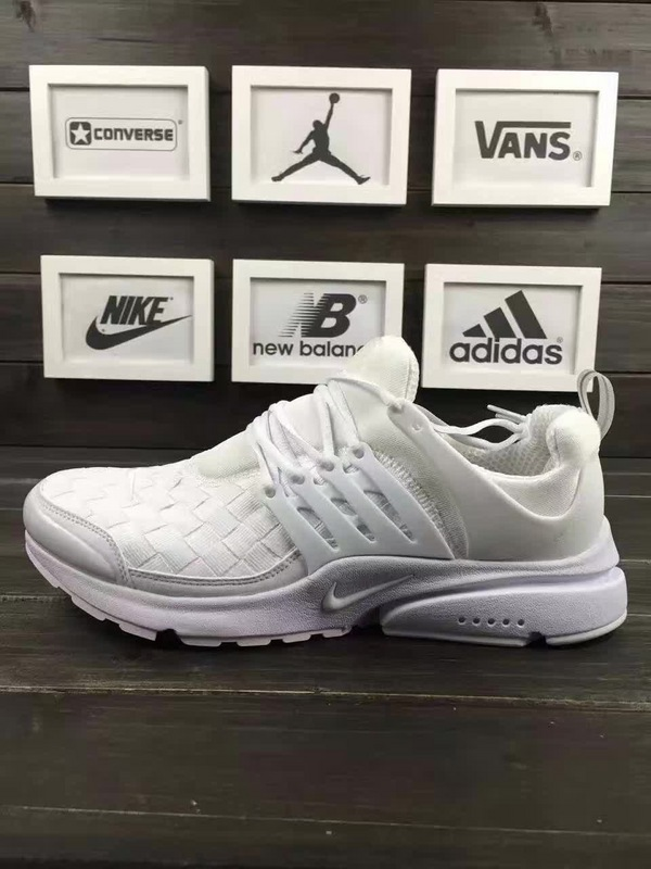 Nike Air Presto Flyknit All White Shoes