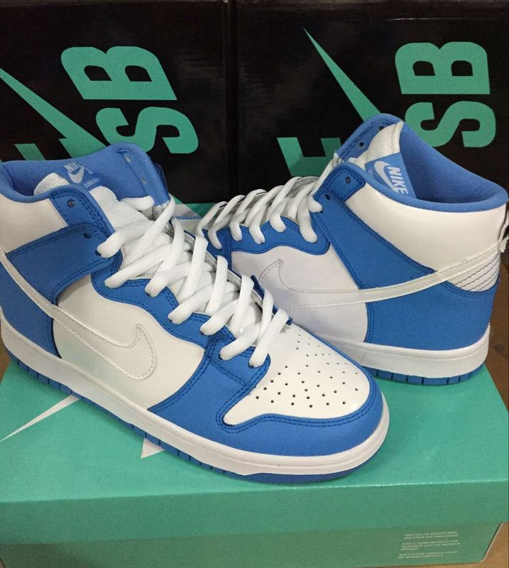 Nike Dunk High North Carolina Blue Shoes