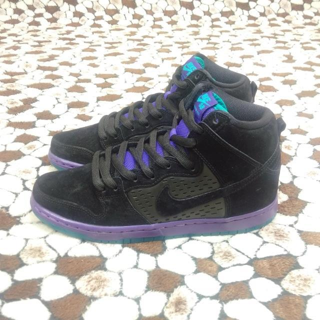 Nike Dunk High Premium SB Purple Grape Shoes