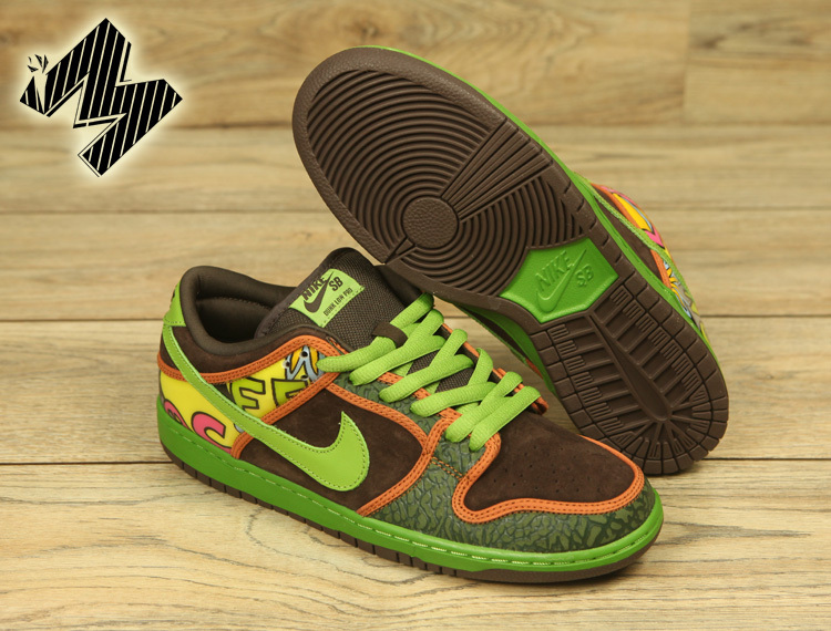 Nike Dunk Low Sunflower Shoes