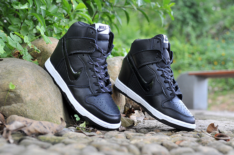 Nike Dunk SB High All Black White Shoes