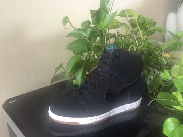 Nike Dunk SB High Black Shoes