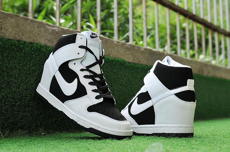 new concept 9bc55 5319a Nike Dunk SB High Black White Shoes