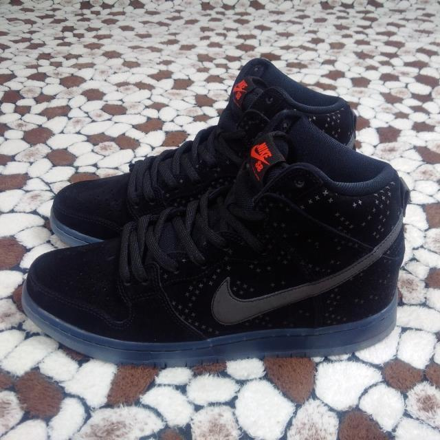 Nike Dunk SB High Black the Star Shoes