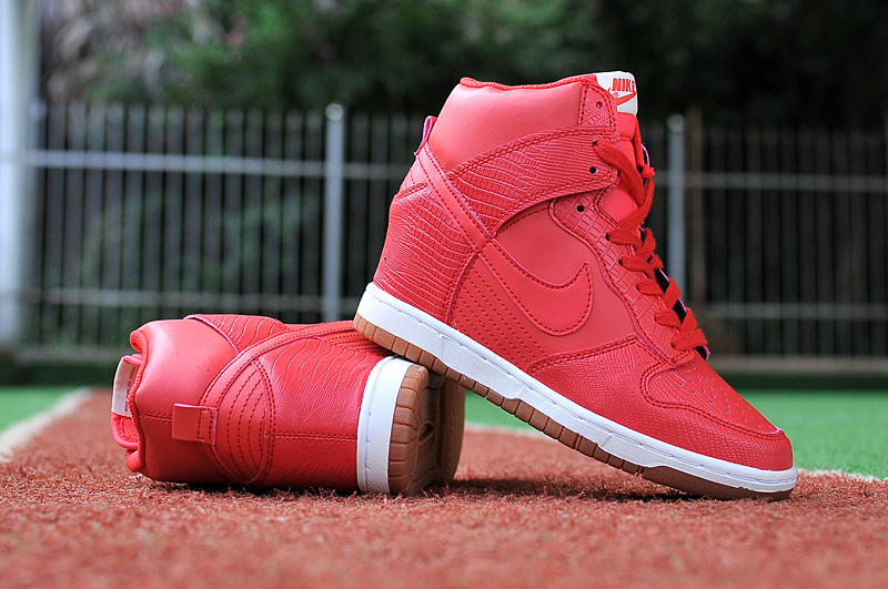 Nike Dunk SB High Red White Shoes