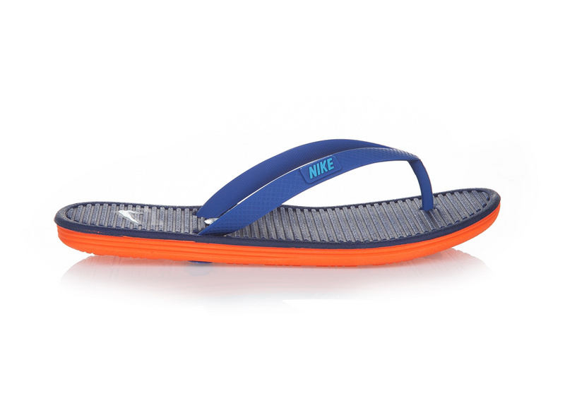 Nike Flip-flops Blue Black Orange Sandal