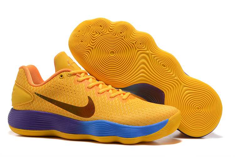 Nike Hyperdunk 2017 Yellow Blue Shoes