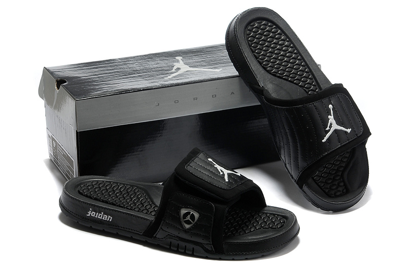 a8f656a5c018eb Nike Jordan 14 Massage Hydro Sandal All Black  NKOBE160  -  53.00 ...