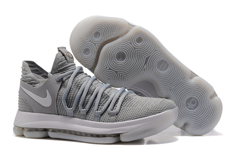 Nike KD 10 Light Grey Shoes